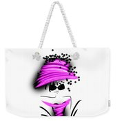 Chic In Pink Silk Couture  Weekender Tote Bag
