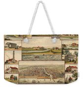 Chicago 1779-1857 Weekender Tote Bag