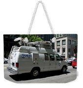 Chicago Abc 7 News Truck Weekender Tote Bag