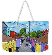 Chicago Alley Weekender Tote Bag