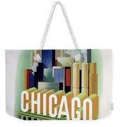 Chicago American Airlines 1950 Weekender Tote Bag
