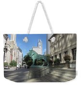 Chicago Art Weekender Tote Bag