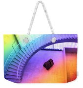 Chicago Art Institute Staircase Pa Prismatic Weekender Tote Bag