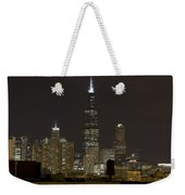 Chicago At Night I Weekender Tote Bag