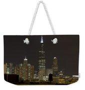 Chicago At Night I Weekender Tote Bag