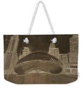 Chicago Bean Weekender Tote Bag