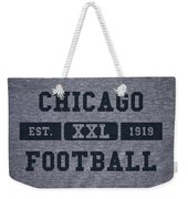 Chicago Bears Retro Shirt Weekender Tote Bag