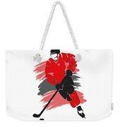 Chicago Blackhawks Player Shirt Weekender Tote Bag