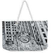 Chicago Board Of Trade Bw Weekender Tote Bag