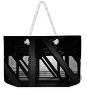 Chicago Bridge Weekender Tote Bag