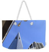 Chicago Cityscape Weekender Tote Bag