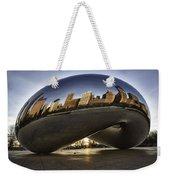 Chicago Cloud Gate At Sunrise Weekender Tote Bag