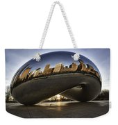 Chicago Cloud Gate At Sunrise Weekender Tote Bag