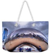 Chicago Cloud Gate Weekender Tote Bag