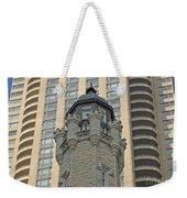 Chicago Contrast Weekender Tote Bag