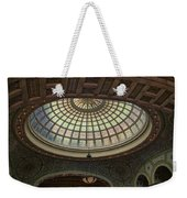 Chicago Cultural Center Tiffany Dome 01 Weekender Tote Bag