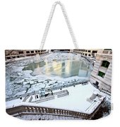 Chicago Downtown City  Weekender Tote Bag