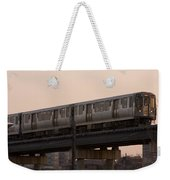 Chicago El Weekender Tote Bag
