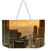 Chicago Evenings Weekender Tote Bag