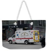 Chicago Fire Department Ems Ambulance 53 Weekender Tote Bag