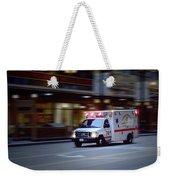 Chicago Fire Department Ems Ambulance 74 Weekender Tote Bag