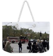 Chicago Fire Department Truck 13 Weekender Tote Bag
