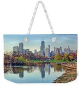 Chicago From Lincoln Park Weekender Tote Bag