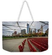 Chicago From Pritzker Weekender Tote Bag