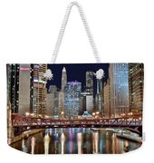 Chicago Full City View Weekender Tote Bag