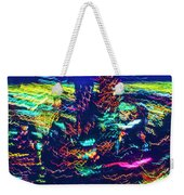 Chicago Gold Coast Abstract Weekender Tote Bag
