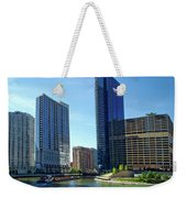 Chicago Heading Up The North River Branch Weekender Tote Bag