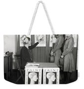 Chicago Health Campaign Weekender Tote Bag