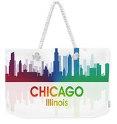 Chicago Il Weekender Tote Bag