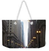 Chicago In The Rain 2 Weekender Tote Bag