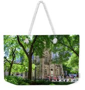 Chicago Jane Byrne Park In June Weekender Tote Bag