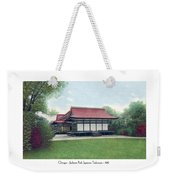 Chicago - Japanese Tea Houses - Jackson Park - 1912 Weekender Tote Bag