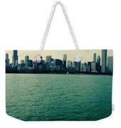 Chicago Lake Michigan Skyline Weekender Tote Bag