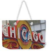 Chicago Weekender Tote Bag