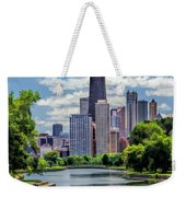 Chicago Lincoln Park Lagoon Weekender Tote Bag