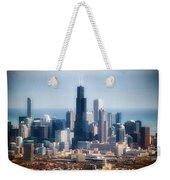 Chicago Looking East 02 Weekender Tote Bag