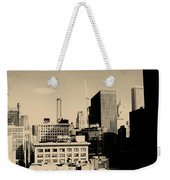 Chicago Loop Skyline Weekender Tote Bag