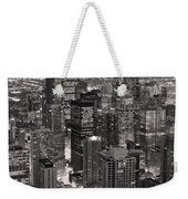 Chicago Loop Sundown B And W Weekender Tote Bag