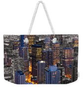 Chicago Loop Sundown Bw Color Blend Weekender Tote Bag