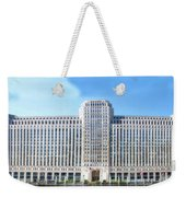 Chicago Merchandise Mart South Facade Weekender Tote Bag