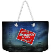 Chicago Milwaukee St. Paul And Pacific Weekender Tote Bag