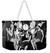Chicago Prohibition New Years 1927 Weekender Tote Bag