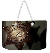 Chicago River Ghosts Weekender Tote Bag