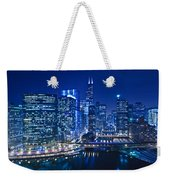 Chicago River Panorama Weekender Tote Bag