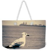 Chicago Seagull Weekender Tote Bag