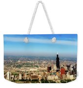 Chicago Skyline - 1990s Weekender Tote Bag